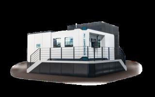 Multifunkční vertikální obráběcí centrum s karuselovým stolem PAMA řada SPEEDMAT VMT