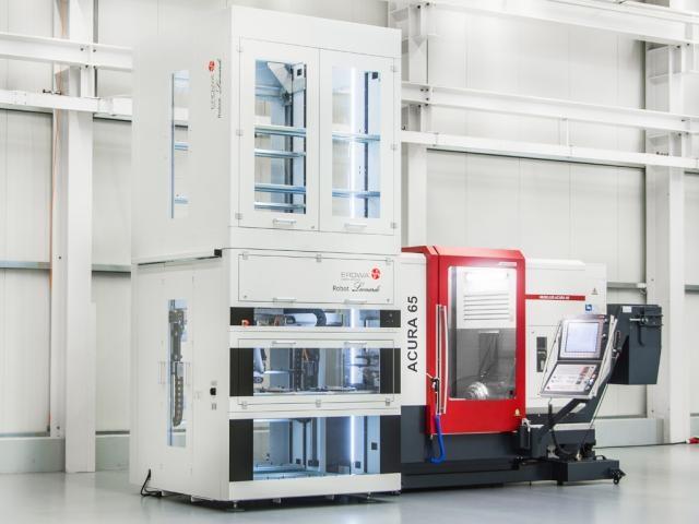 Palettenautomation EROWA Leonardo